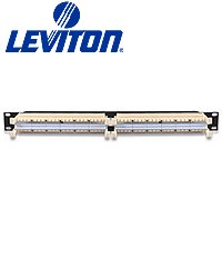 Leviton 41DR6-2F4 eXtreme 6+ 110-Style Rack Mount Wiring Block - 192 Pair