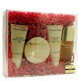 Pheromone By Marilyn Miglin For Women. Set-eau De Parfum Spray 1.7 Ounces & Body Lotion 3 Ounces & Shower Gel 3 Ounces & Gold Dusting Powder 1 Ounces