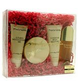 Pheromone By Marilyn Miglin For Women. Set-eau De Parfum Spray 1.7 Ounces & Body Lotion 3 Ounces & Shower Gel 3 Ounces & Gold Dusting Powder 1 Ounces