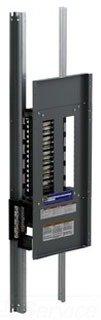 SCHNEIDER ELECTRIC Panel Board Int Nq 400-Amp Mlo 30-Circuit 1-Pole Aluminum NQ30L4 Molded Case Breaker 600V 100A