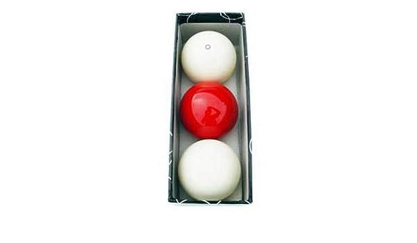Juego bolas billar carambolas estandar 57. 2 mm: Amazon.es ...