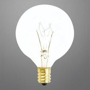 Vanity Light Refresh Kit 5 Bulb : DECORATIVE VANITY GLOBE LIGHT BULB G16.5 25 WATTS LONG LIFE - - Amazon.com