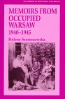 img - for Memoirs from Occupied Warsaw 1940-1945 (Library of Holocaust Testimonies) book / textbook / text book