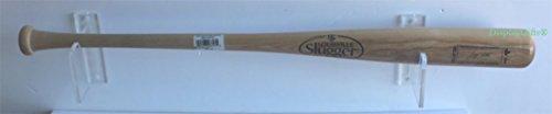 Baseball Bat Wall Mount Holder Rack Hanger, Clear Acrylic, good alternative to (Acrylic Baseball Holders)