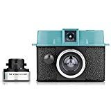 Lomography hp620 Diana Baby 110 Camera and 12 mm Lens Package (Black/Blue)