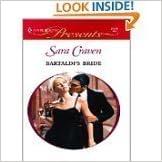 Bartaldi's Bride (Wedlocked) (Presents, 2119) by Sara Craven (2000-07-01)
