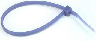 50 mm Ethylene Tetrafluoroethylene Cable Tie 201 mm 4.7 mm ETFE Blue