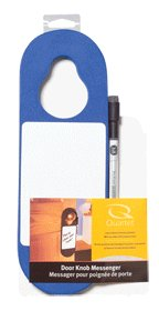 Quartet Door Knob Tack & Write Boards, 12 x 4 Inches, Dry-er