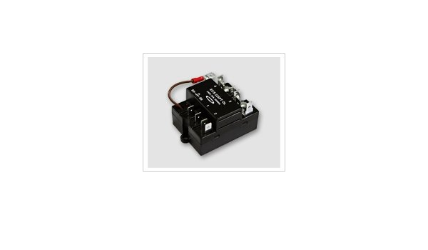 Samusco ECS124L Electronic Centrifugal Switch for Capacitor Start /& Run Motors