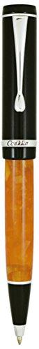"Conklin CK71375 Duragraph""Nights"" Ballpoint Pen - Orange"