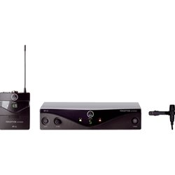 Harman International Perception Wireless 45 Pres Set BD U2 w/ Frequency Agile Wrlss Micro Sys 3249H00090 by AKG