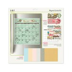 UPC 025291102080, SEI - 12 x 12 Magnetic Calendar Kit