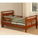Baby Relax Toddler Bed, Walnut