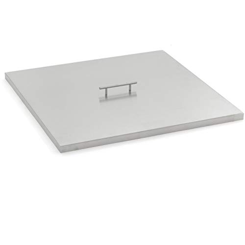 Lakeview Outdoor Designs 27-Inch Stainless Steel Burner Lid – Fits 24-Inch Square Fire Pit Pan