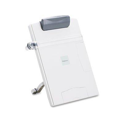 Easel-Style Desktop Letter/Legal/Wide-Form Copyholder, Platinum, Total 4 EA, Sold as 1 Carton