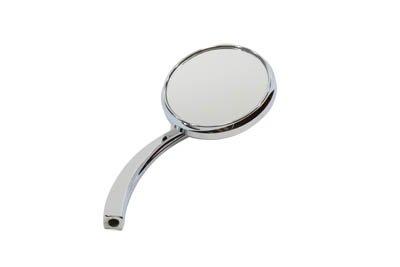 Round Mirror Chrome with Billet (Standard Billet)