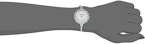 Anne Klein Women's AK/2847SVST Swarovski Crystal Accented Silver-Tone Watch and Bangle Set by Anne Klein (Image #4)