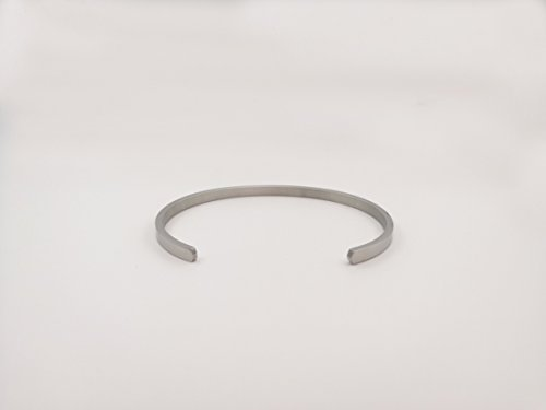 YWJ I Love You to the Moon and Back' Cuff Bangle Love Bracelet for Women Wife Girlfriend Mom Her by YWJ (Image #4)
