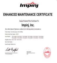 Impinj Enhanced Maintenance Package (Speedway Revolution R120 Reader - 1 Port) by Impinj