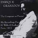 Enrique Granados the Composer As Pianist