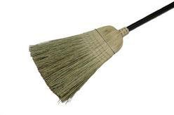 Laitner Brush 469 Warehouse Corn Broom with Wire Band, 54-Inch Height - Laitner Brush