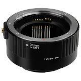 Fotodiox Pro Auto Macro Extension Tube, 31mm Section - for Canon EOS EF/EF-s Lenses for Extreme Close-up