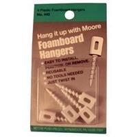 Moore Plastic Foamboard Hangers - Pack of ()