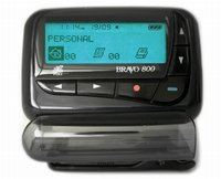Bravo 800 with Annual Alpha Pager Service Beeper NICE!