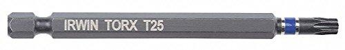 Irwin Tools 1837518 Impact Performance Series TORX T20 Power Bit, 3-1/2