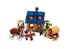 686 Bricks (BRICK-LAND Farm Bricks Toy Set for Kids Teens Construction Building Kits, 686)