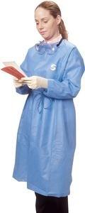 ChemoPlus Lightweight Splash Resistant Protective Gown 2X-Large Part No. CT5102 Qty 30 Per Case