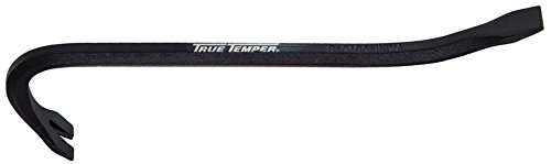 The AMES Companies, Inc 1169400 True Temper Gooseneck Wrecking Bar, 12-Inch