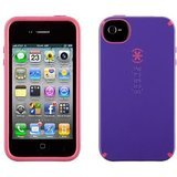 Speck Products CandyShell Case for iPhone 4/4S - 1 Pack - Carrying Case - Purple/Pink (Speck Iphone 4s Phone Case)