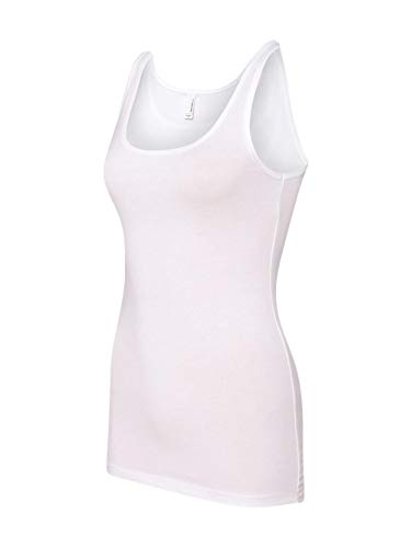 The Jersey Tank (White) (Medium)