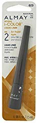Almay Intense i-Color Liquid Liner, Black Pearl [023], 0.8 oz (Pack of 2)