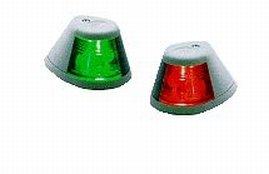 Perko Marine Horizontal Mount Side Lights Chrome Plated Bronze Chrome Plated Bronze Ct 1 Pa - Bronze Navigation Lights
