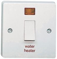 Best Price Square 20A DP WATER HEATER SWTCH AND 4015//31 By CRABTREE