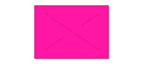 Garvey Gx2216, Label, Fluorescent Pink Blank (2216-07017)