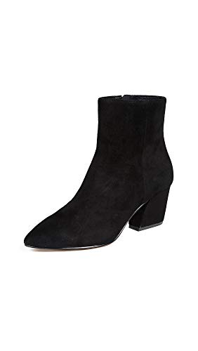 botkier Women's Sasha Point Toe Booties, Black, 8.5 M US