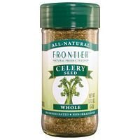 Celery Seed Whole - 1 lb,(Frontier) ( Multi-Pack)