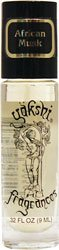 Yakshi Fragrances Roll-On Fragrance African Musk -- 0.33 fl oz