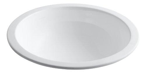 (KOHLER K-2349-0 Camber Undercounter Bathroom Sink, White)