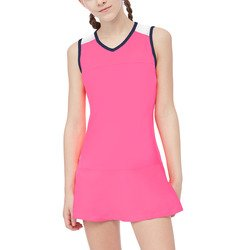 Fila Girl's Down the Line Dress, Coral