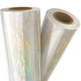 Shimmering Water Transparent Holographic Laminating/Toner Fusing Foil (8'' x 100') by MyBinding