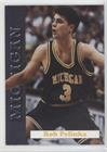 Rob Pelinka (Basketball Card) 1992-93 Michigan Wolverines Team Issue - [Base] #11
