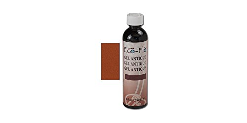 Tandy Leather Eco-Flo Gel Antique 8 oz Saddle Tan 2607-05