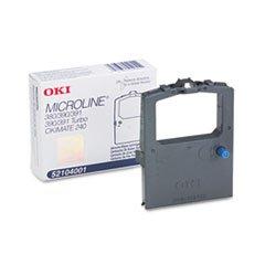 (3 Pack Value Bundle) OKI52104001 52104001 Ribbon, Black by OKI52104001