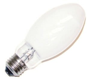 Sylvania 69452 - H45/46DL-40/50/DX Mercury Vapor Light Bulb 50 Watt E17 Medium Base