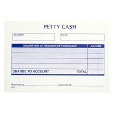 Adams Petty Cash Receipt Pad - Gummed - 2.83amp;quot; x 5.5amp;quot; Form Size - 12 / (Adams Petty Cash Receipt Pad)