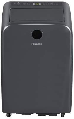Best Hisense AP1419CW1G HiSmart 14,000 BTU 600 sq. ft. Portable Air Conditioner with WiFi, Works with Google Assistant and Alexa (Renewed)